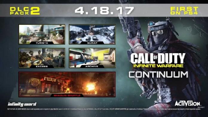 Call of Duty: Infinite Warfare Continuum DLC Revealed