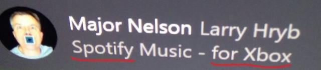 Spotify for Xbox