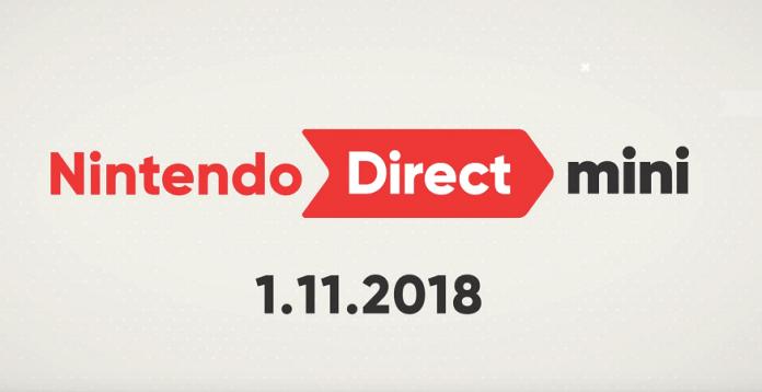 today's Nintendo Direct