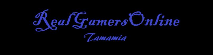 RealGamersOnline Tamania text