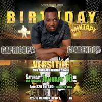 DJ SNIPER PROMO MIXTAPE FOR VERSITILE'S CAPRICORN LINK UP CLARENDON INVASION 1.16.2015 IN NEW YORK