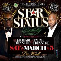SUPA PUDGIE PRESENTS PRESSURE DEM STAR STATUS PROMO MIX CD