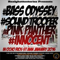 BASS ODYSSEY VS SOUND TROOPER VS PINK PANTHER VS INNOCENT JAN 2016