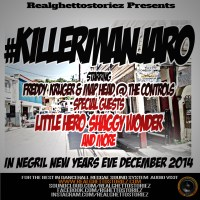 KILLERMANJARO IN NEGRIL NEW YEARS EVE/DAY JANUARY 2015