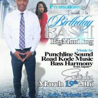 ROADKODE MUSIC, BASS HARMONY AND PUNCHLINE AT TROY'S BIRTHDAY BASH MARCH 2016