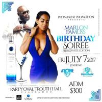STONE LOVE LS SUPERPHONIC AT MARLON FAMUSS SOIREE BLUE N WHITE EDITION  JULY 7TH 2017