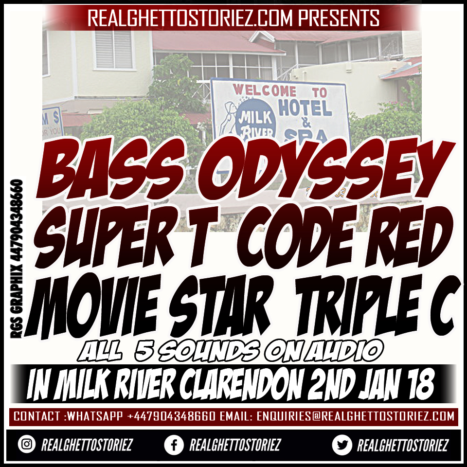 BASS ODYSSEY X SUPER T X CODE RED X  MOVIE STAR X TRIPLE C IN MILK RIVER 2ND JAN 18