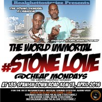 STONE LOVE AT CHEAP MONDAYS April 2016