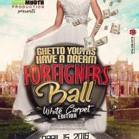 STONE LOVE AND RICKY FAMOUS AT FORIGNERS BALL-WHITE CARPET EDITION APRIL 2016