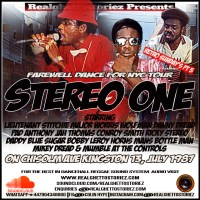 RETRO SUNDAY'S PT 5 – STEREO ONE IN CHISOLM AVE JULY 1987