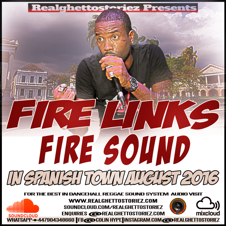 FIRE LINKS IN SPANISH TOWN ST CATHERINE AUGUST 2016