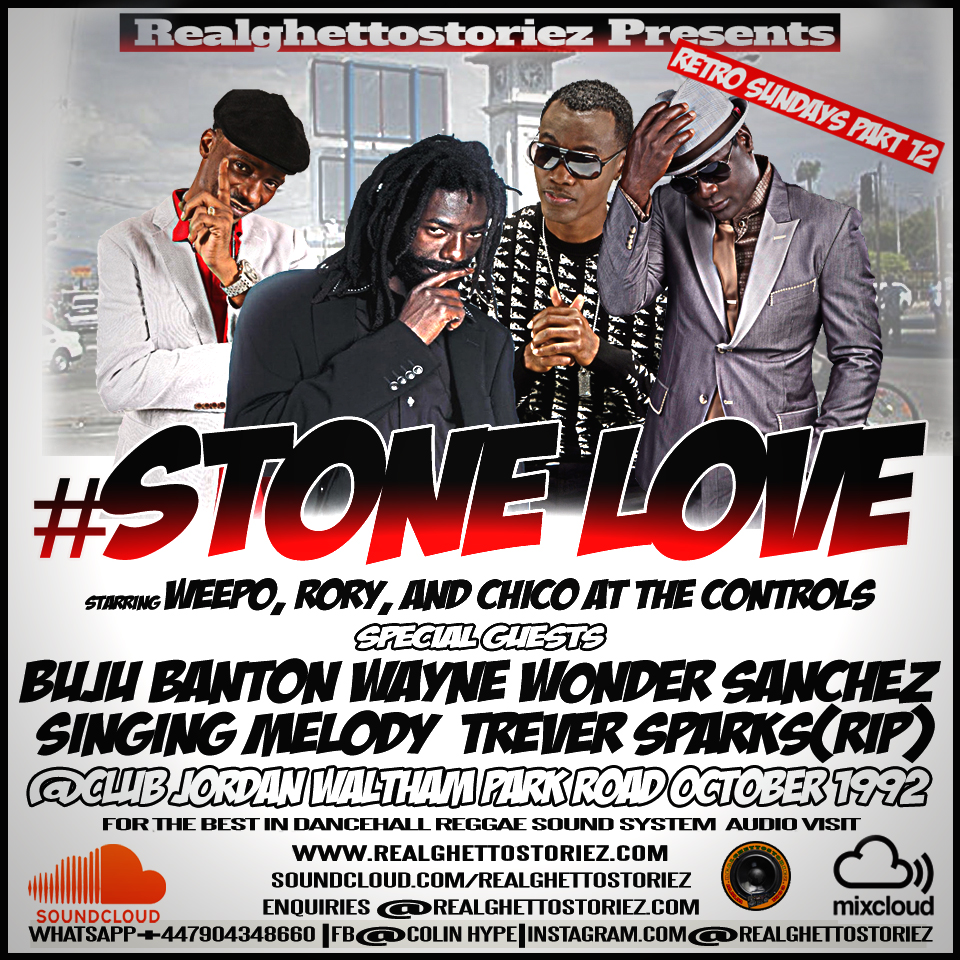 RETRO SUNDAY'S PART 12 - STONE LOVE AT CLUB JORDAN OCTOBER 1992