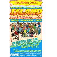 PAUL MICHAEL AT ISLAND SATURDAYS 3DECEMBER 2016