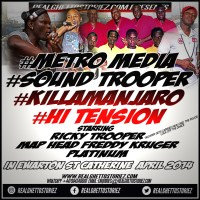 METRO MEDIA LS SOUND TROOPER LS KILLAMANJARO AT HI TENSION 24TH ANNIVERSARY 2014
