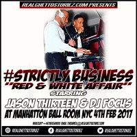 STRICTLY BUSINESS AT RED N WHITE AFFAIR 4TH FEB 2017