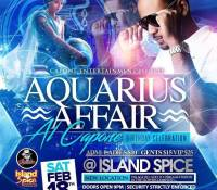 AQUARIUS AFFAIR AL CAPONE EARTHSTRONG AT ISLAND SPICE 18TH FEB 2017