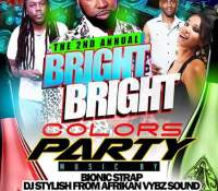 2ND ANNUAL BRIGHT COLORS PARTY AT ODYSSEY BAR AND GRILL  4TH MARCH 2017