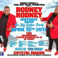 STRICTLY BUSINESS AT RODNEY RODNEY BIRTHDAY BASH APRIL 15TH 2017