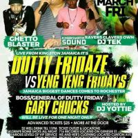 DUTTY FRIDAZE VS YENG YENG FRIDAYS 31ST MARCH 2017