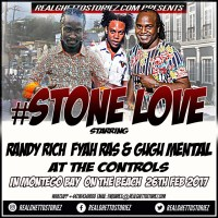 STONE LOVE IN MONTEGO BAY ON THE BEACH 26TH FEB 2017