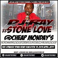DJ RAY AT CHEAP MONDAY'S 24TH APRIL 2017