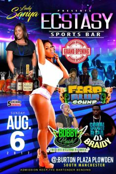 ECSTACY SPORTS BAR GRAND OPENING