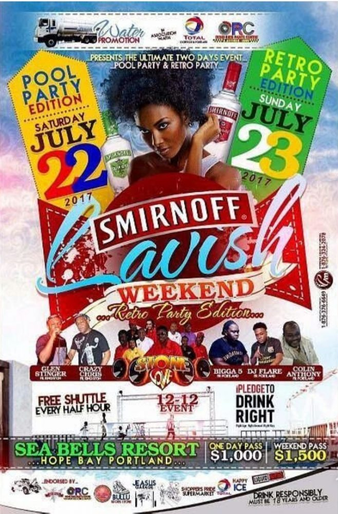 SMIRNOFF LAVISH WEEKEND RETRO EDITION