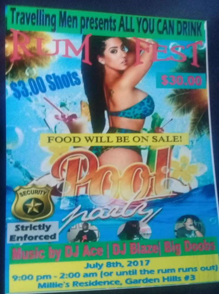 ASYLUM SOUND AT ALL YOU CAN DRINK POOL PARTY JULY 8TH 2017