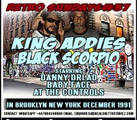 RETRO SUNDAYS 37 – KING ADDIES VS BLACK SCORPIO IN NEW YORK DEC 1991
