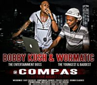 BOBBY KUSH AND WORMATIC AT COMPAS 25TH AUGUST 2017