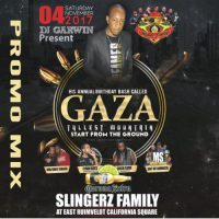 DJ GARWIN GAZA BIRTHDAY BASH 4TH NOVEMBER PROMO MIX