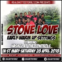 STONE LOVE IN ST MARY 28TH APRIL 2018