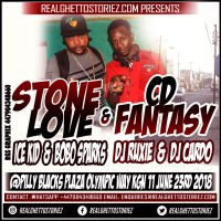 STONE LOVE LS CD FANTASY AT PILLY BLACKS PLAZA 23RD JUNE 2018