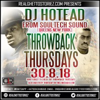 DJ HOTHEAD LIVE ON THROWBACK THURSDAYS(ONELINK RADIO)30TH AUGUST 2018