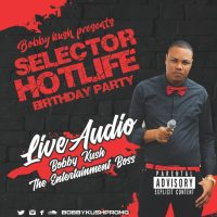 BOBBY KUSH LIVE AT SELECTOR HOTLIFE BIRTHDAY PARTY SEPTEMBER 2018
