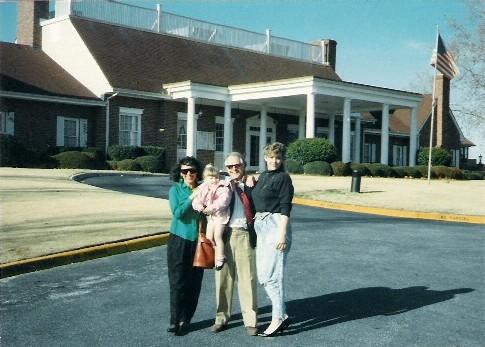 Tina Resch, Amber and Dr William Roll
