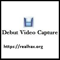 Debut Video Capture 6.11 Crack With Serial Key 2020