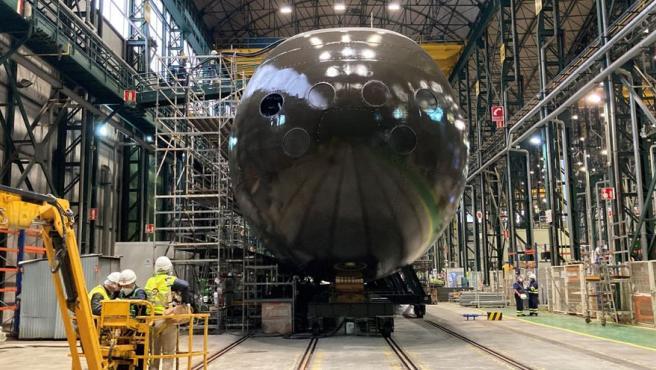El Rey presidirá la puesta a flote del primer S-80 para darle visibilidad internacional