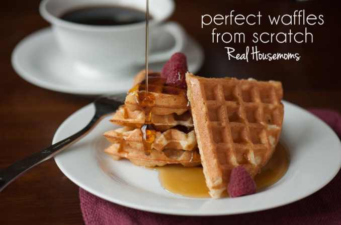 Perfect Waffles from Scratch ⋆ Real Housemoms