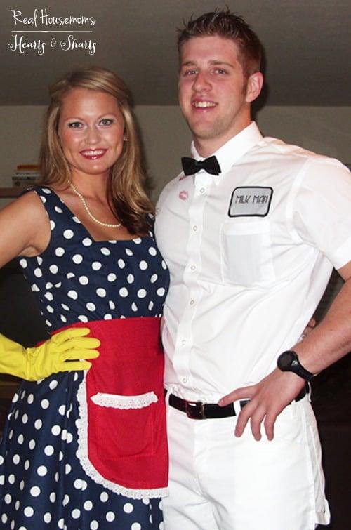 Diy Housewife Amp The Milk Man Costume Real Housemoms