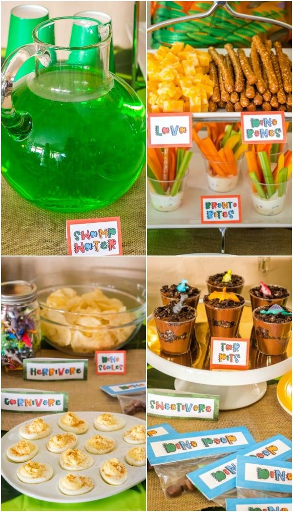 Fun Dinosaur Party Ideas Printables Real Housemoms
