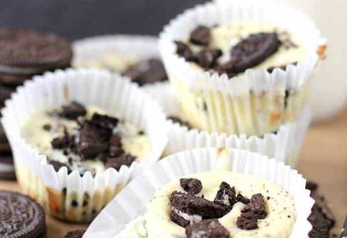 Oreo Mini Cheesecakes Real Housemoms