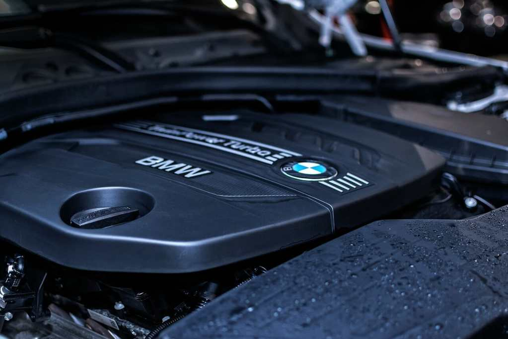 bmw, engine, car
