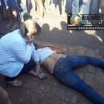 Criança fica gravemente ferida e mulher morrer após colisão frontal em José de Freitas