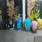 Com prédio da PM deteriorado, bandidos são levados ao Centro Cultural de União