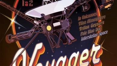 Nasa lança pôsteres em homenagem aos 40 anos das sondas Voyager - Baixe grátis