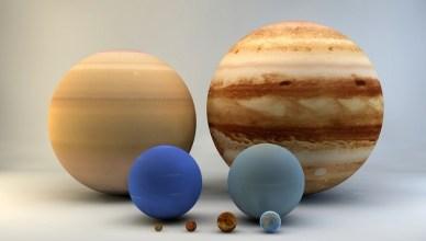 Os planetas são redondos e não se trata de uma simples coincidência