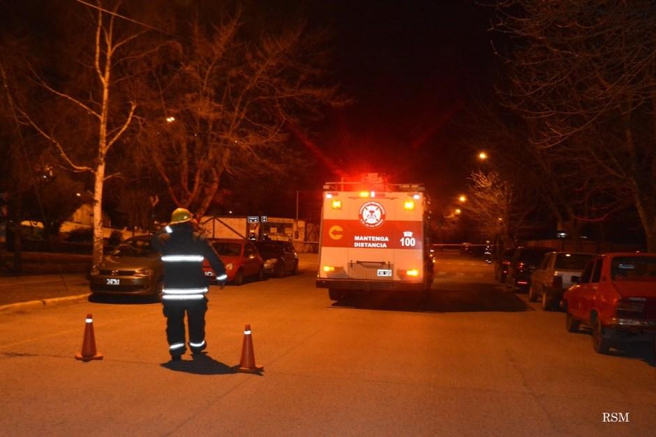 Este sábado por la noche Bomberos debió asistir a diferentes sectores de la ciudad por fuerte olor a gas