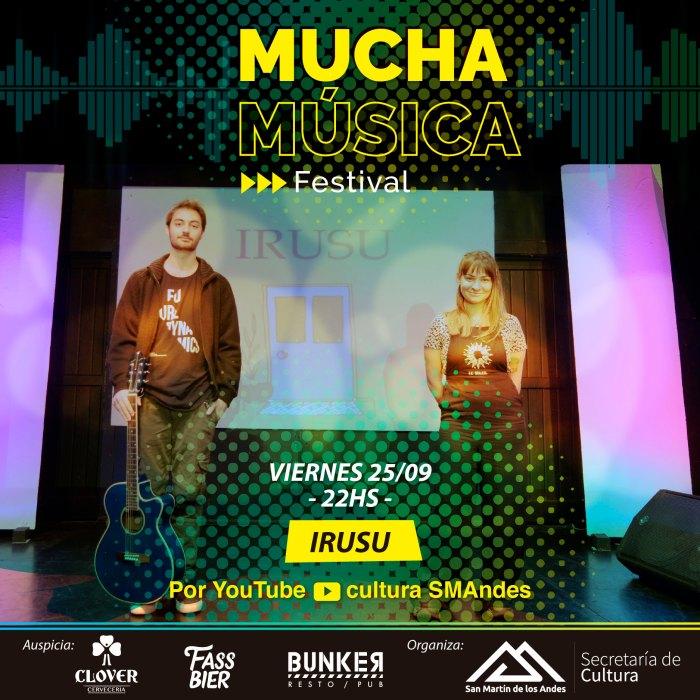Este fin de semana dos nuevos conciertos de Mucha Música Festival: Irusu y Dúo Destino