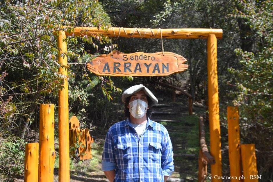 Revalorizar con creatividad un lugar histórico: sendero Arrayán